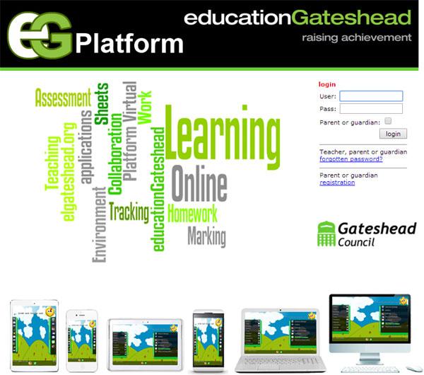Gateshead E Learning Platform